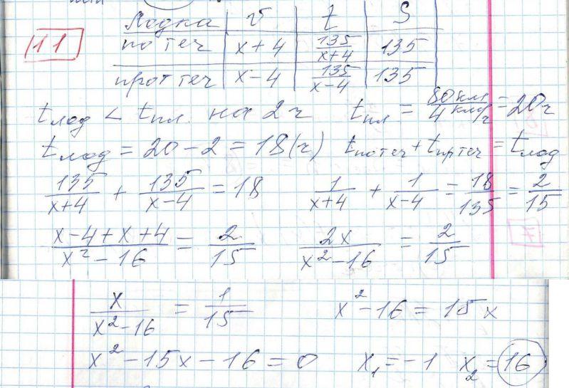 Задние 11, Вариант 3, решение и ответ - Ященко ЕГЭ 2018 математика профиль 36 вариантов