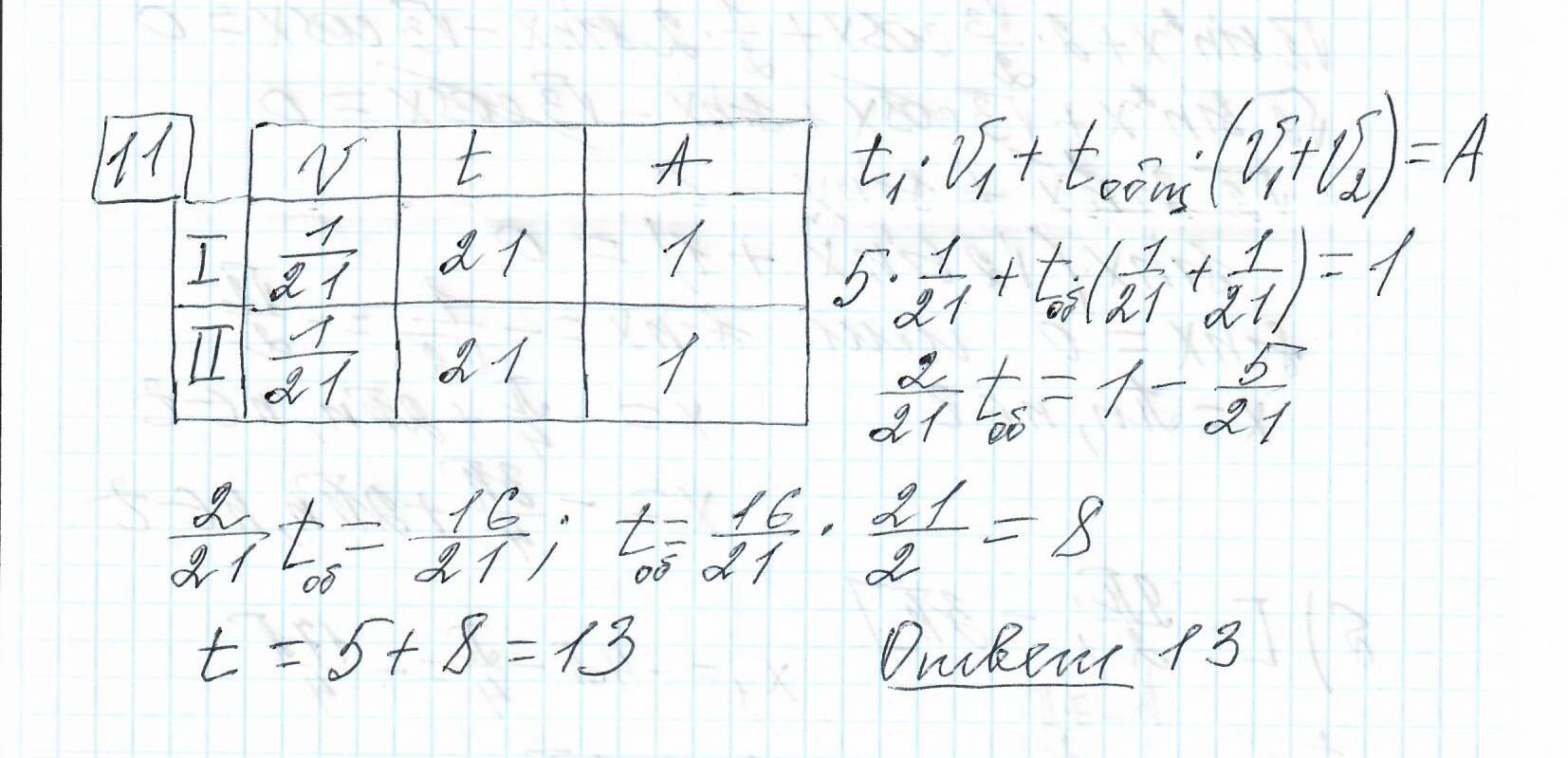 Задние 11, Вариант 6, решение и ответ - Ященко ЕГЭ 2019 математика профиль 36 вариантов